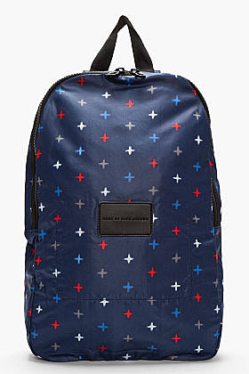 MARC BY MARC JACOBS Indigo MORRIS STAR PACKABLES BACKPACK
