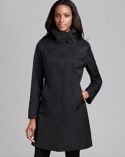 DKNY Rain Coat - Hooded Duffle