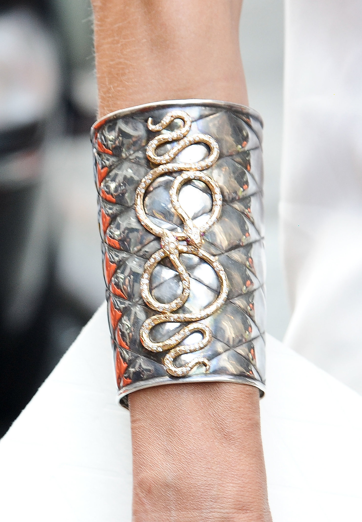 Armed with a gorgeous cuff.