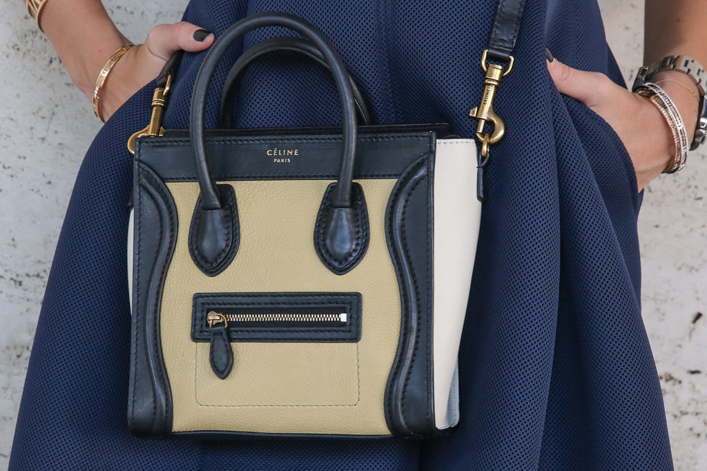 A close up on a chic Celine.