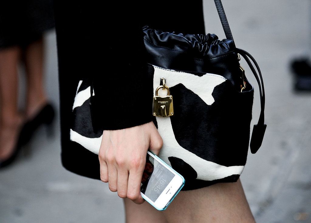 """OK, fine, this isn't necessarily a """"tech bag,"""" but let it be known that the iPhone is its perfect complement."""