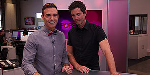 Video: The White Queen Star James Frain on Giving Max Irons Advice