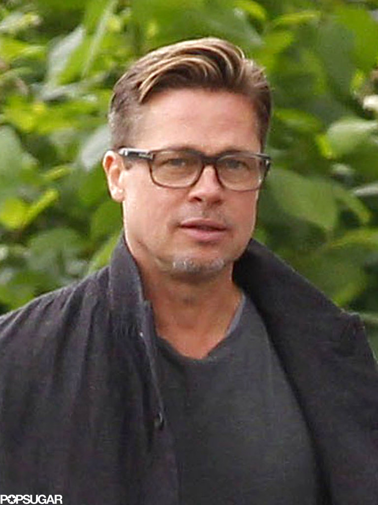 Brad Pitt showed off h...