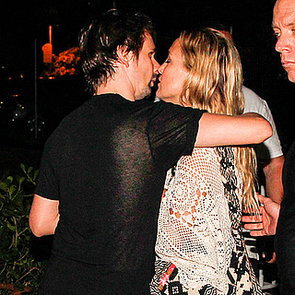 Kate Hudson and Matthew Bellamy Kiss in Rio