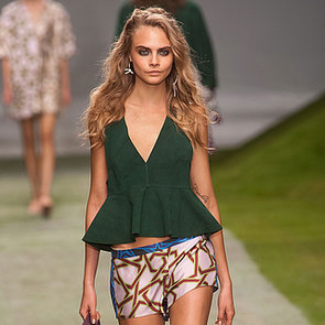2014 Spring London Fashion Week Runway Topshop UNIQUE