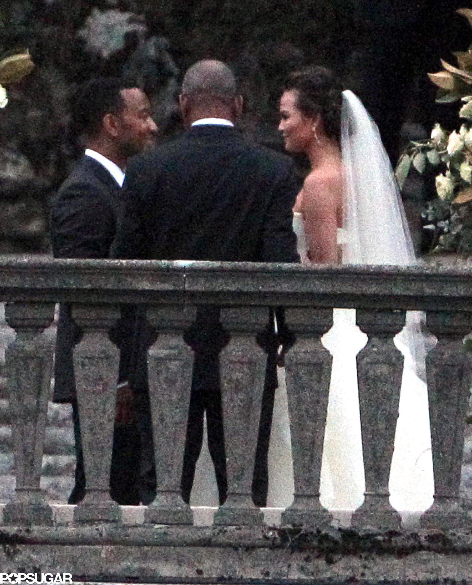 John Legend and Chrissy Teigen got married in September 2013 in Lake Como, Italy.