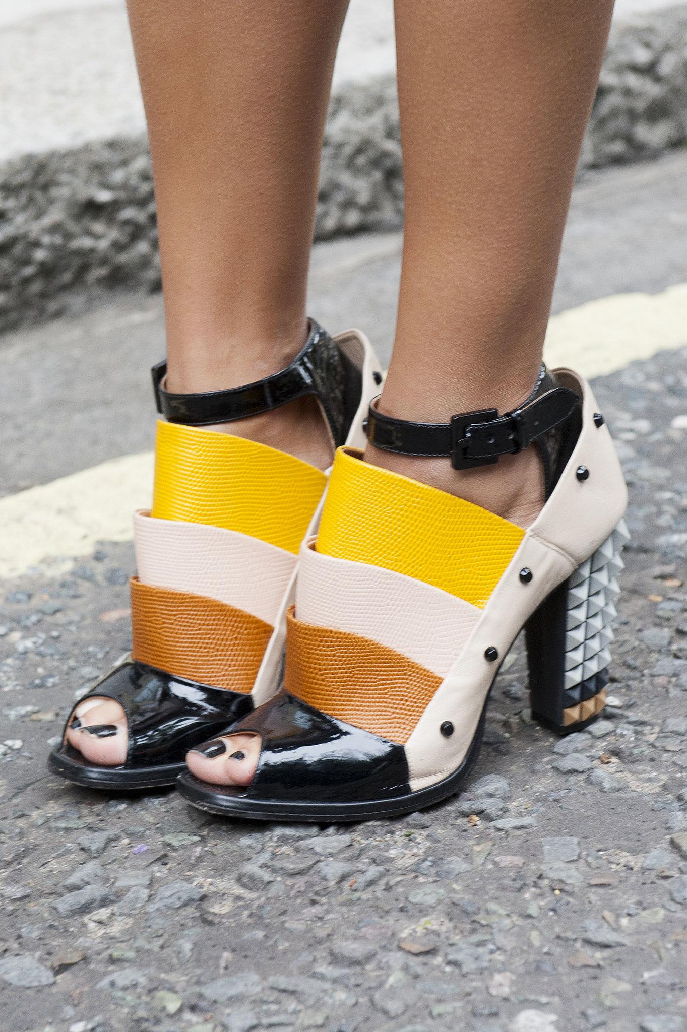 Fendi's heels could brighten up any look.