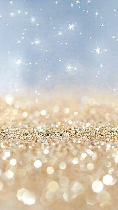 Falling Gold Sparkles