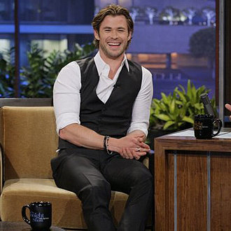 Chris Hemsworth on Dancing With the Stars Australia