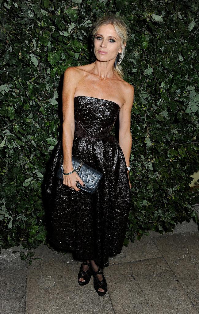 Laura Bailey's black was anything but basic at The Global Fund's London event.