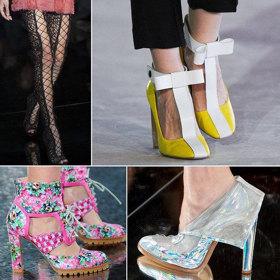 2014 London Fashion Week Shoe Trends
