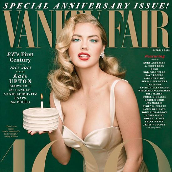 Kate Upton Vanity Fair Cover | Hair and Nails