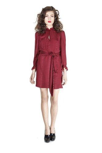 Minetta Print Dress