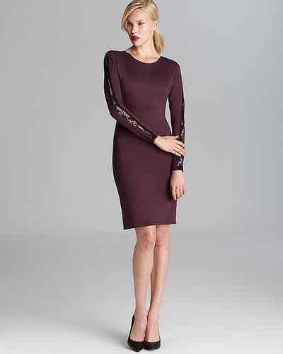Alice + Olivia Dress - Dionne Strong Shoulder