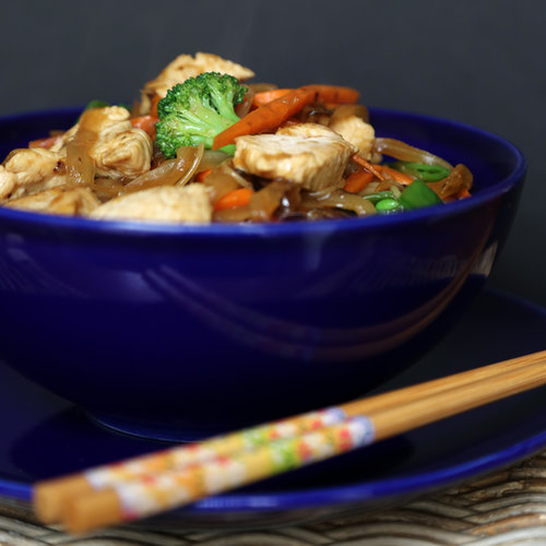 Fast & Easy Dinner: Chicken Lo Mein | POPSUGAR Food