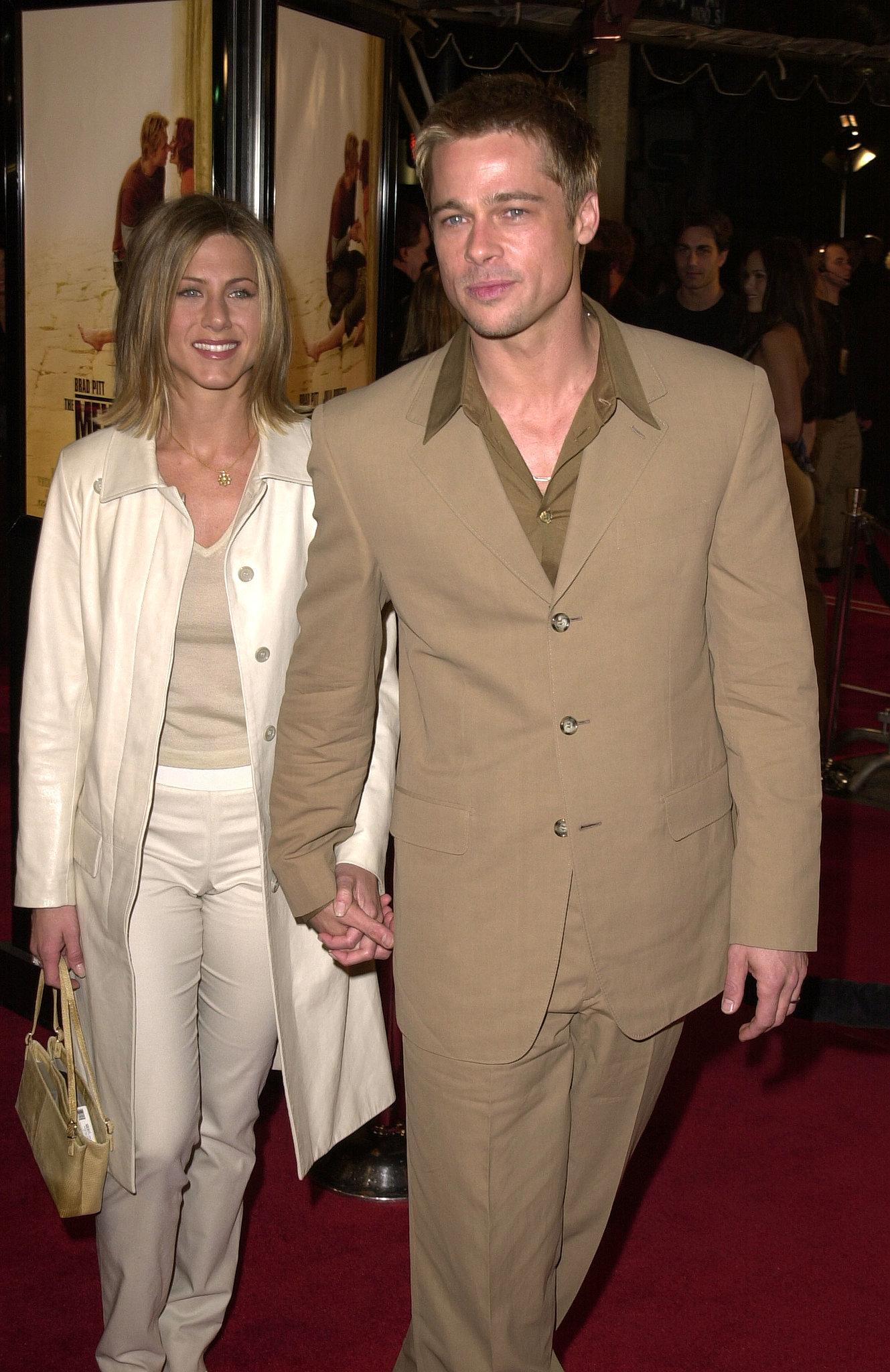 Brad Pitt and Jennifer... Brad Pitt Jennifer Aniston
