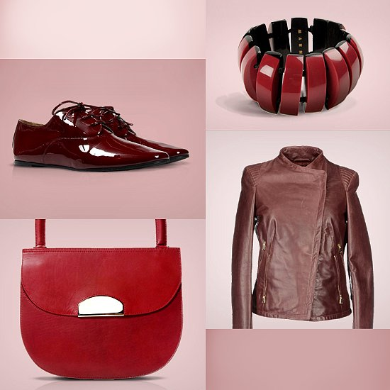 The Color of the Season — Oxblood Red