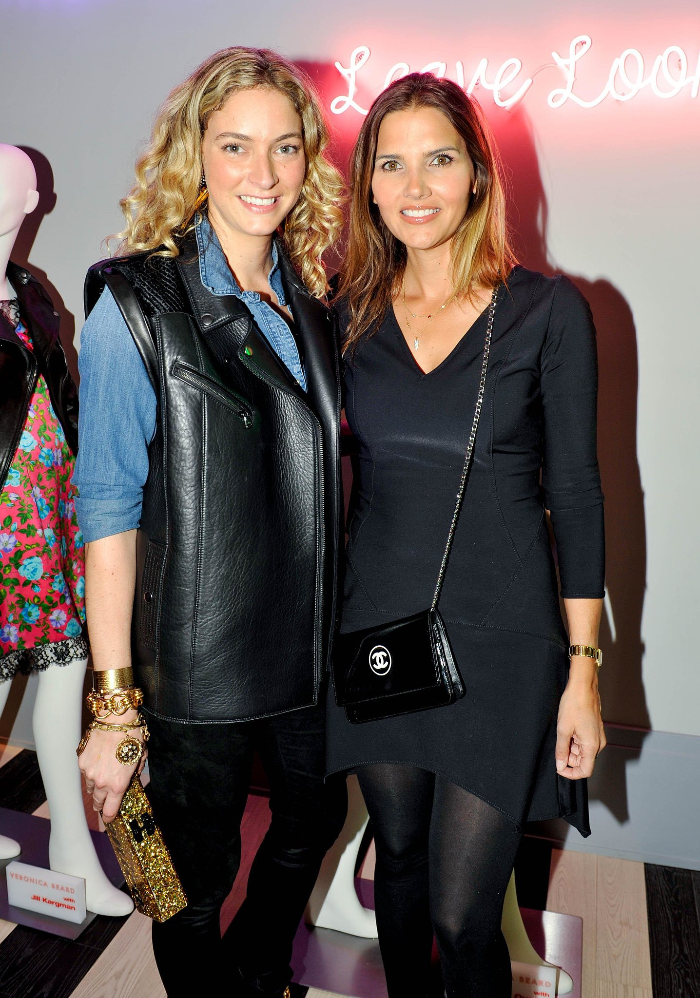 Veronica Beard's design duo joined Kirna Zabete to launch their limited edition jacket collection.