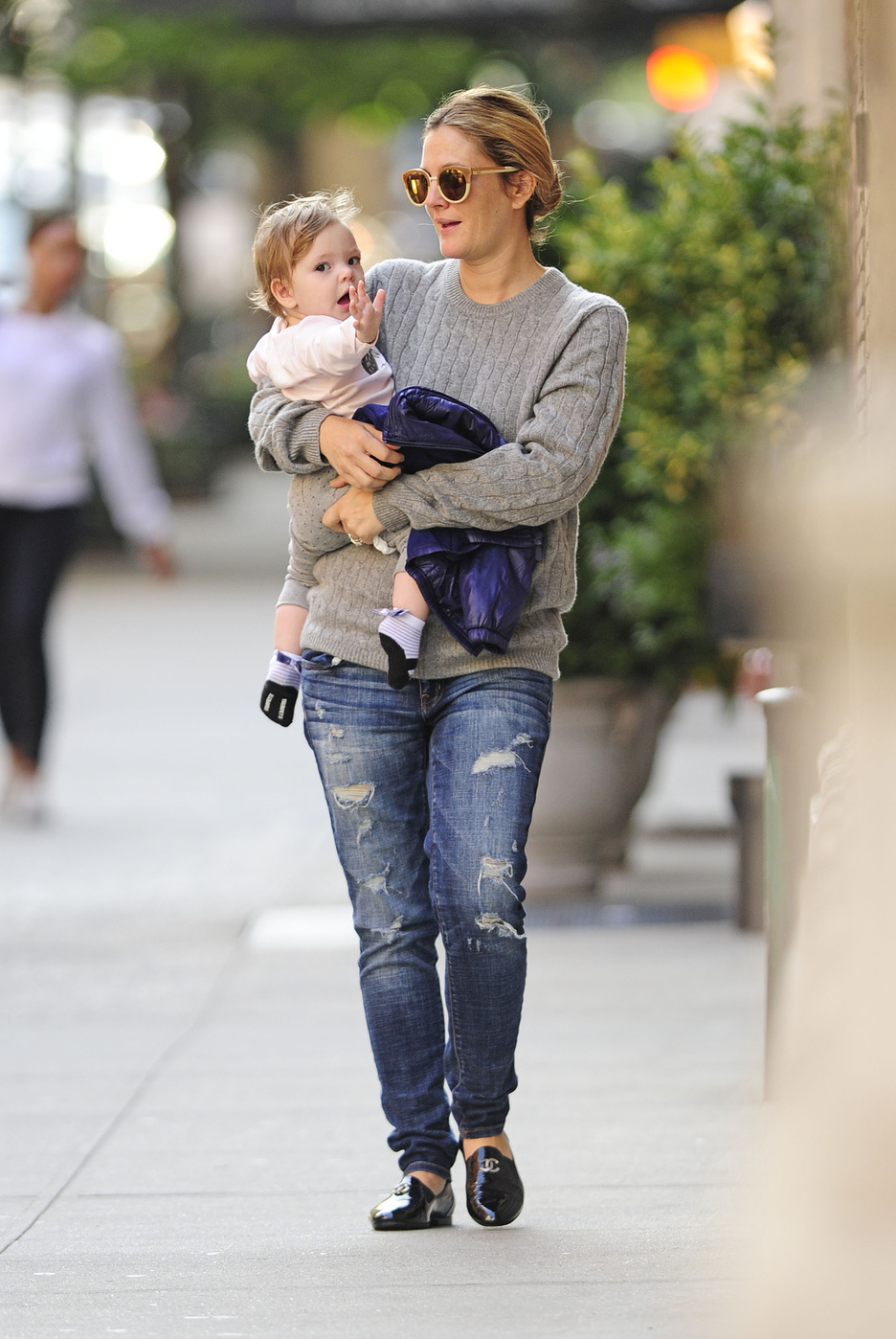 Drew Barrymore Hangs With Baby Olive After a Big Night at the Ballet