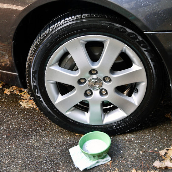 Clean Hubcaps With Baking Soda