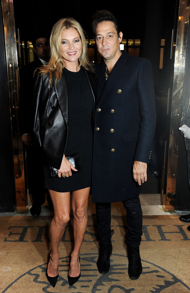 Kate Moss and Jamie Hince Head Back to London After Popping Up in Portofino