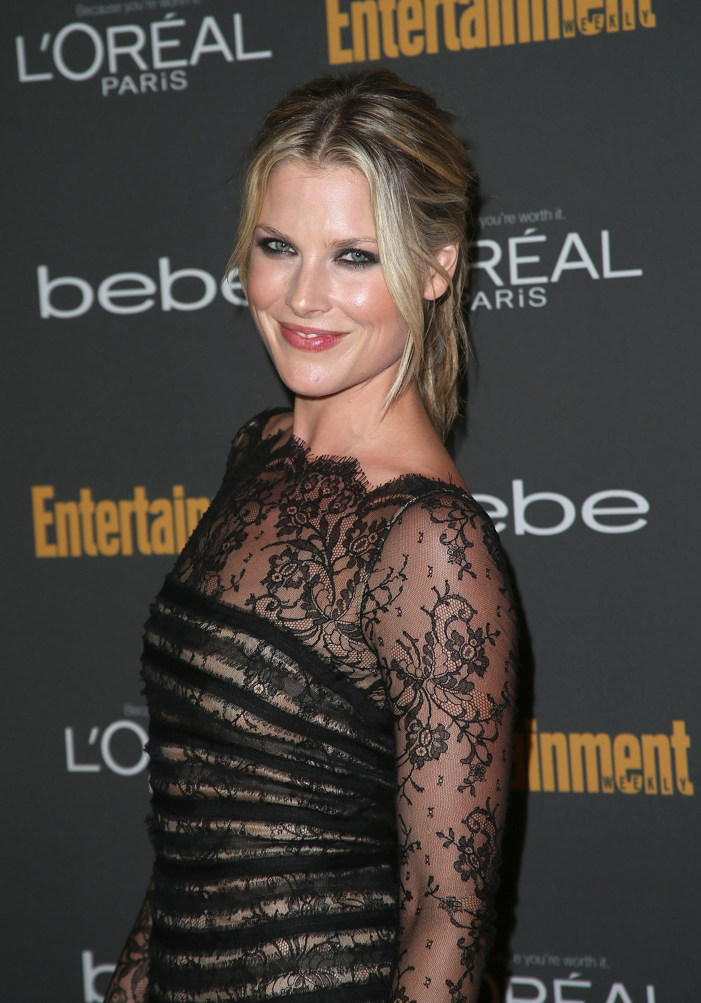 Ali Larter looked super sexy with a p