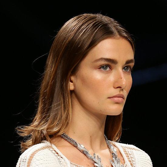 Roberto Cavalli Spring 2014 Hair Makeup   Runway Pictures