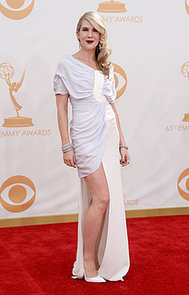 Lily-Rabe-showed-little-leg-Emmys