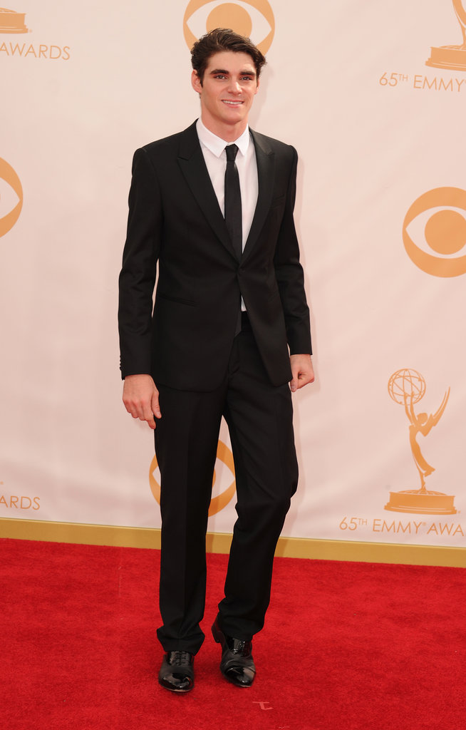 Actor RJ Mitte attended the Emmys.