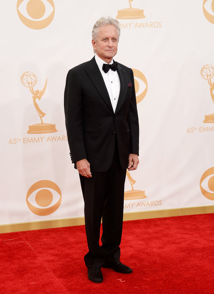 Michael Douglas attended the 2013 Emmys.