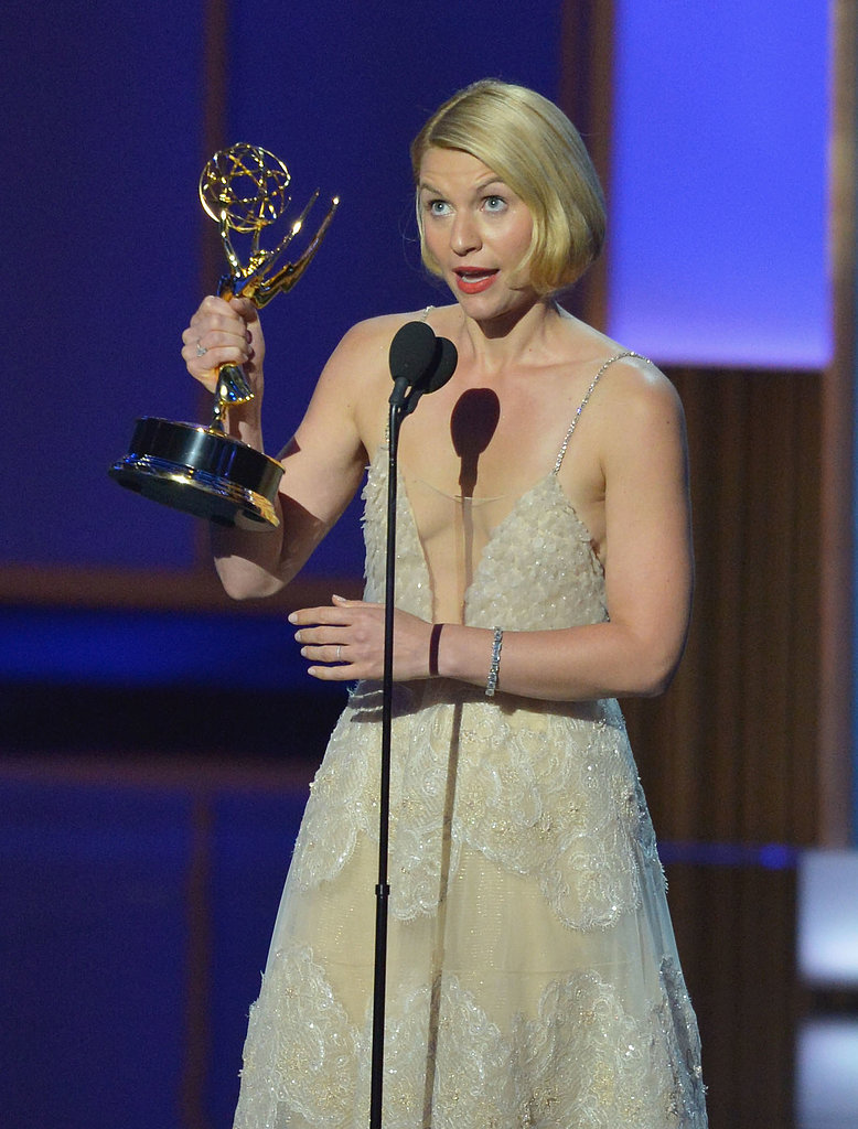 Claire Danes won the award for Outstanding Actress in a Leading Role.