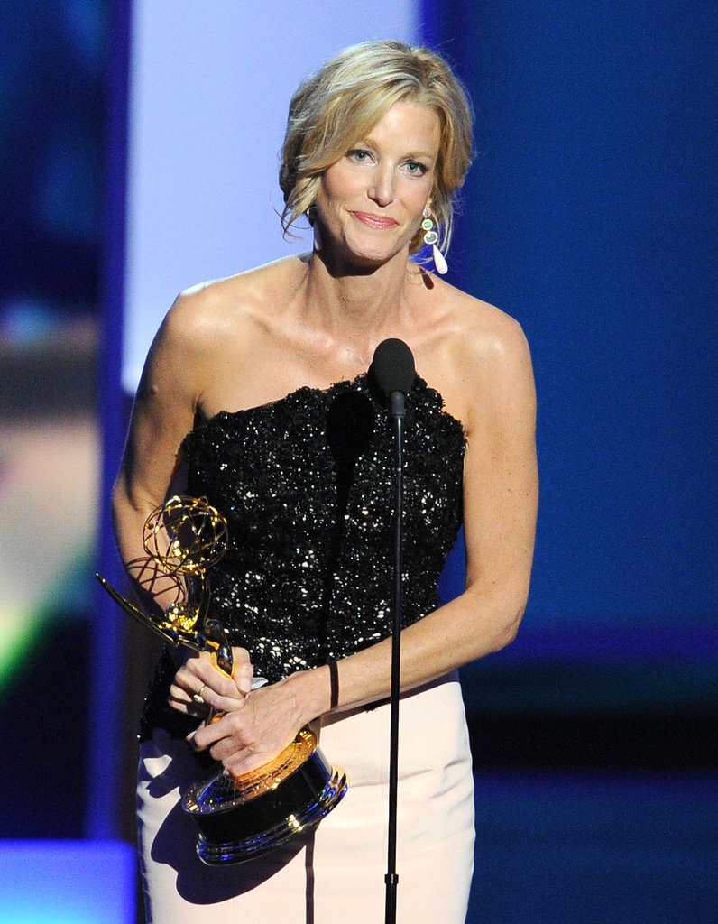 Anna Gunn took the stage to accept her award for outstanding supporting actress in a drama series.
