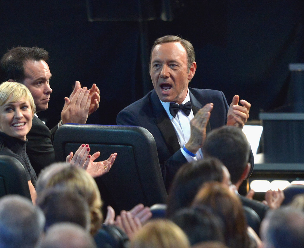 Kevin Spacey Channels Francis Underwood