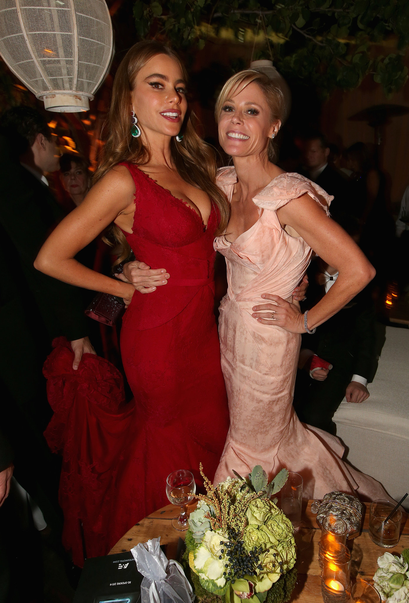 Sofia Vergara and Julie Bowen joined up for a photo at the Fox afterparty.