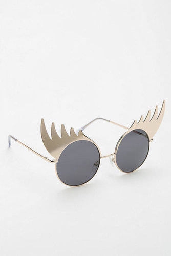 Lash Out Round Sunglasses