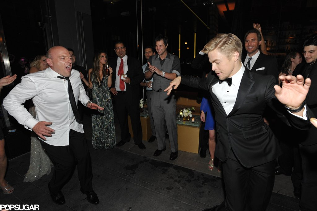 Derek Hough danced with Breaking Bad's Dean Norris.