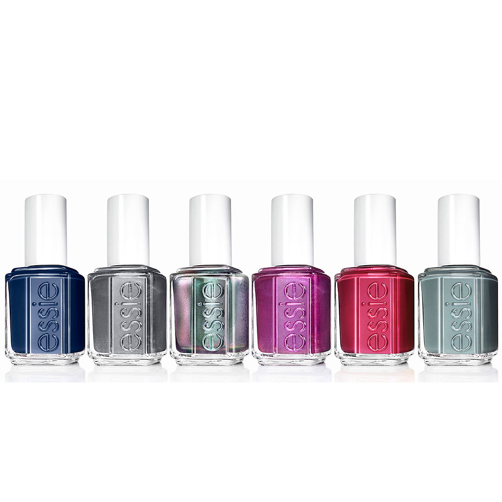 Textile-inspired manicures come alive in Essie's latest collection, For the Twill of It ($8 each). The colors take their cues from flannels and twills that make Fall oh-so cozy.