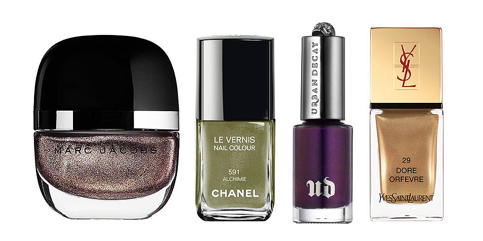 Fall's Biggest Nail Trend: Metallic Manicures