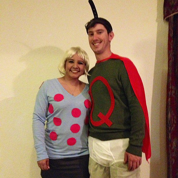 100 Creative Couples Costume Ideas – Chaostrophic Quailman And Patty Mayonnaise Costume