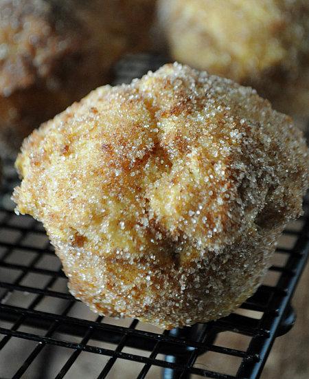 Pumpkin Donut Muffins