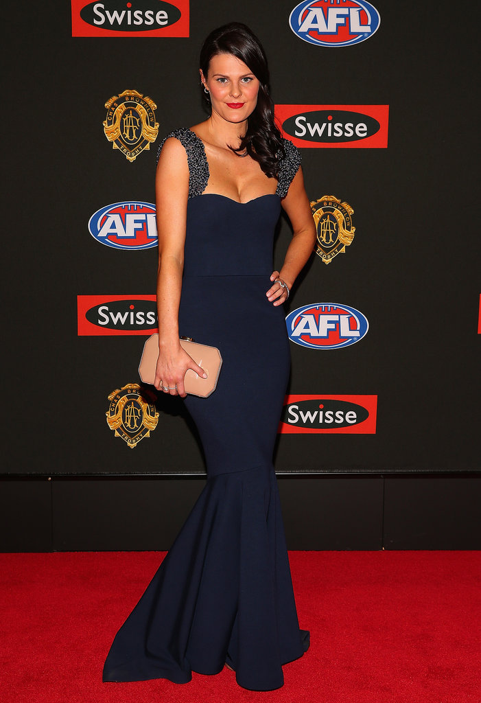 Megan Hough the partner of Lachie Henderson of the Blues.