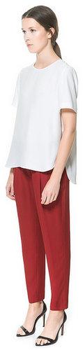 Jacquard Pattern Trousers