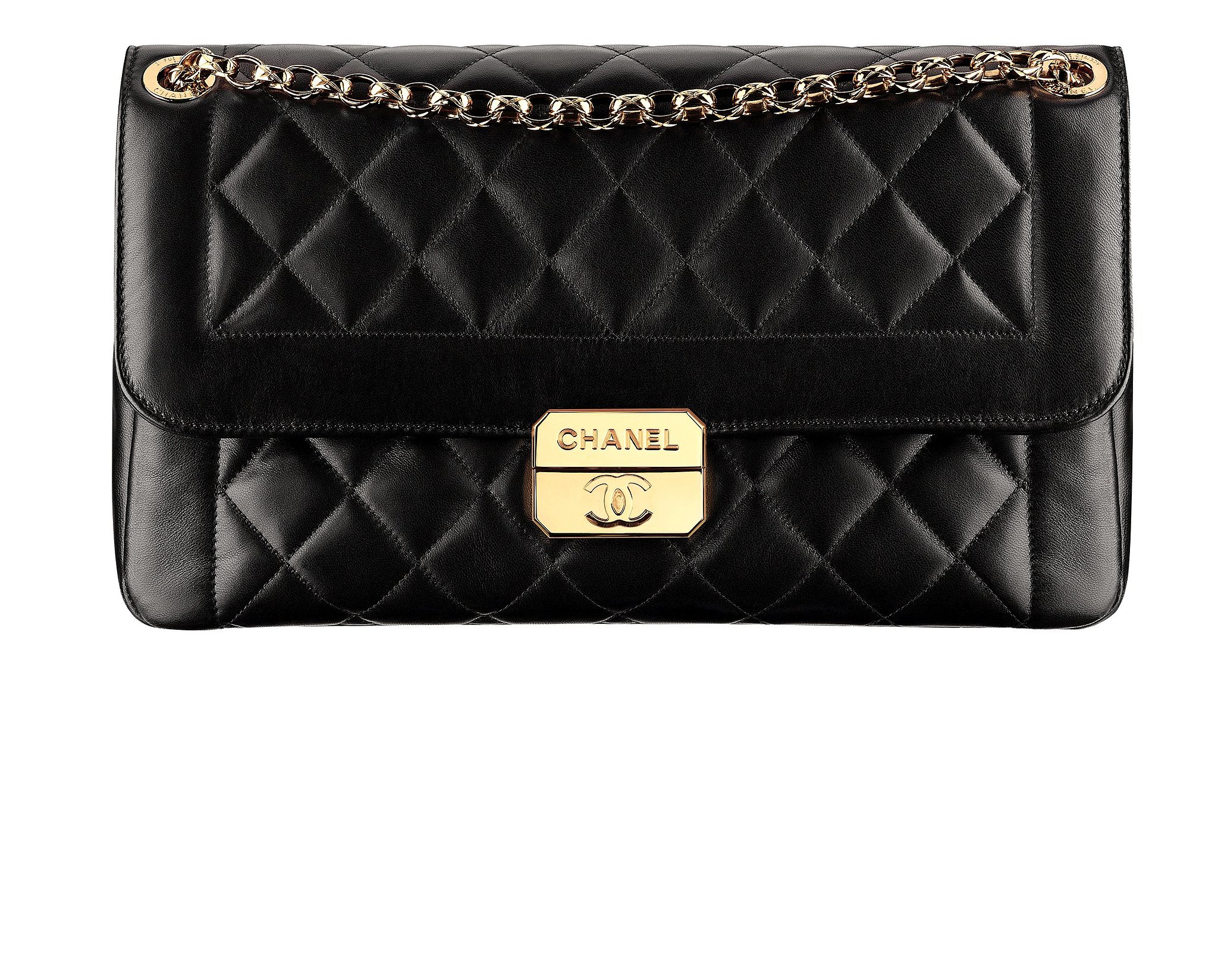 Quilted Leather Chanel Bag Chanel Black Quilted Leather