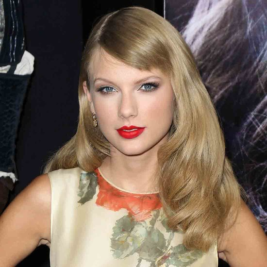 Taylor Swift With Sideswept Bangs | 2013