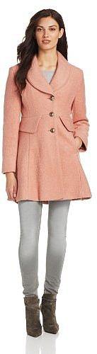 Kenneth Cole Women's Peplum Coat