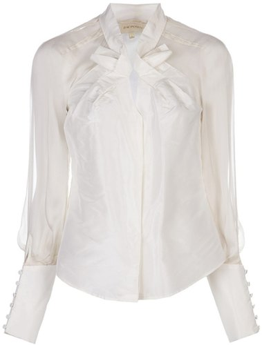 Zac Posen double bow blouse