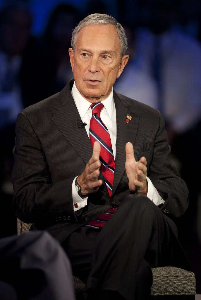 On Wednesday, outgoing New York mayor Michael Bloomberg spoke at the Clinton Global Initiative. He also received the Clinton Global Citizen Award this year.
