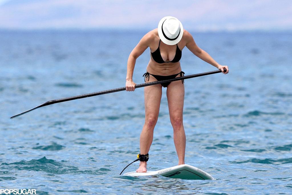 Chelsea Handler got active during her Hawaii trip.