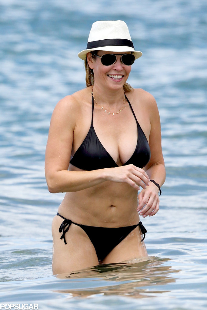Chelsea Handler enjoyed a day at the beach in Hawaii.