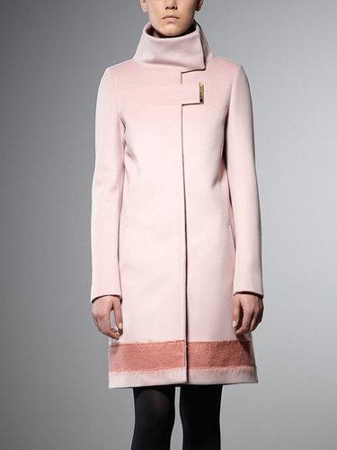 Mantel aus Wollstoff und Kaschmir 2S0799  A104 € 436,00